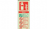 6362M/R - WATER EXTINGUISHER IDENTIFICATION SIGN